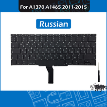 Laptop Replacement Keyboard Russian Layout for Macbook Air 11″ A1370 A1465 RU Keyboard 2011-2015 Year