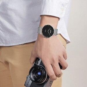 Image 5 - DOM 2018 Fashion Horloges Voor Mannen Uur Heren Horloges Topmerk Luxe Quartz Horloge Man Lederen Sport Polshorloge Klok relogio