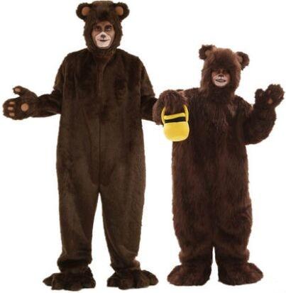 adult brown bear costume animal costumes animate brown ...