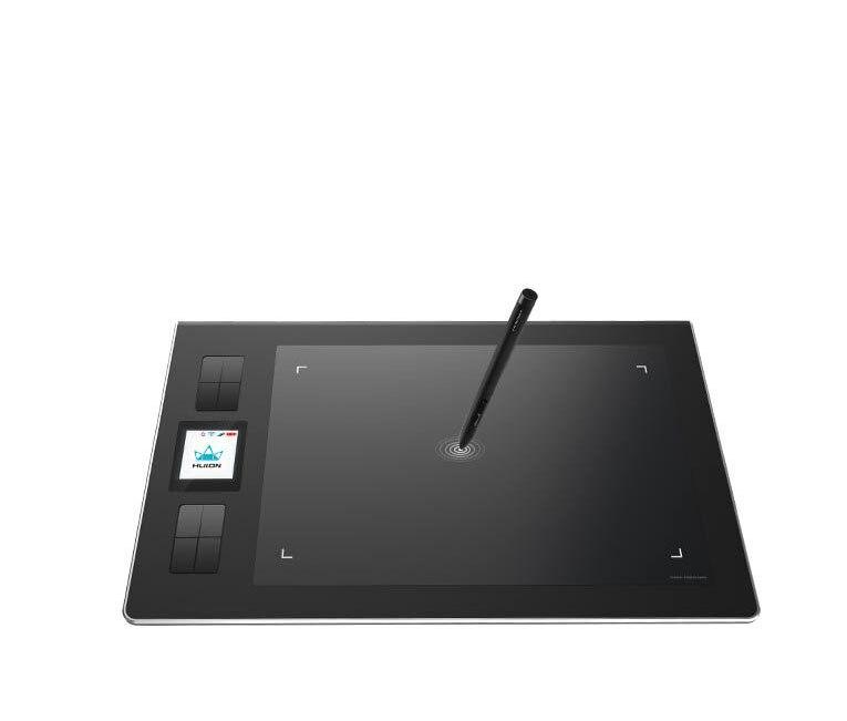 Huion DWH69 9*6 pouces sans fil tablette graphique dessin tablette professionnelle numérique dessin tablette stylo tablette artiste gant - 2