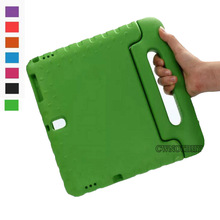 Case For Samsung Galaxy Tab S 10.5 T800 T805 Kids Shockproof EVA Portable Handle Stand Holder Case Full Body Protection