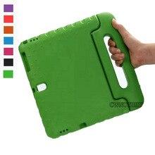 Per Il caso di Samsung Galaxy Tab 10.5 S T800 T805 Bambini Antiurto EVA Maniglia Portatile Del Supporto Del Basamento di Caso di Protezione Completa Del Corpo
