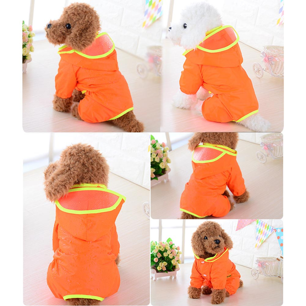 Dog Clothes For Small Dogs Pet Products Clothing Pet Dog Puppy Rainwear Raincoat Pet Hooded Waterproof Jacket Clothes