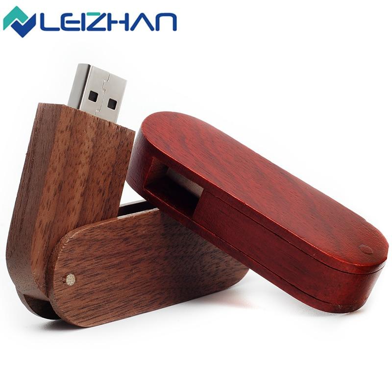 LEIZHAN USB font b Flash b font font b Drive b font 2 0 Maple Wooden