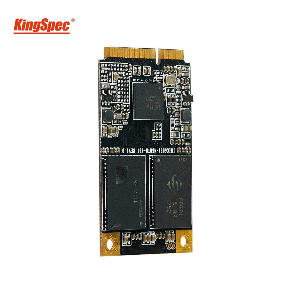 KingSpec 128GB mSATA SSD Mini SATA 120gb mSATA SATA III 6GBS Module For Desktop Laptop Server