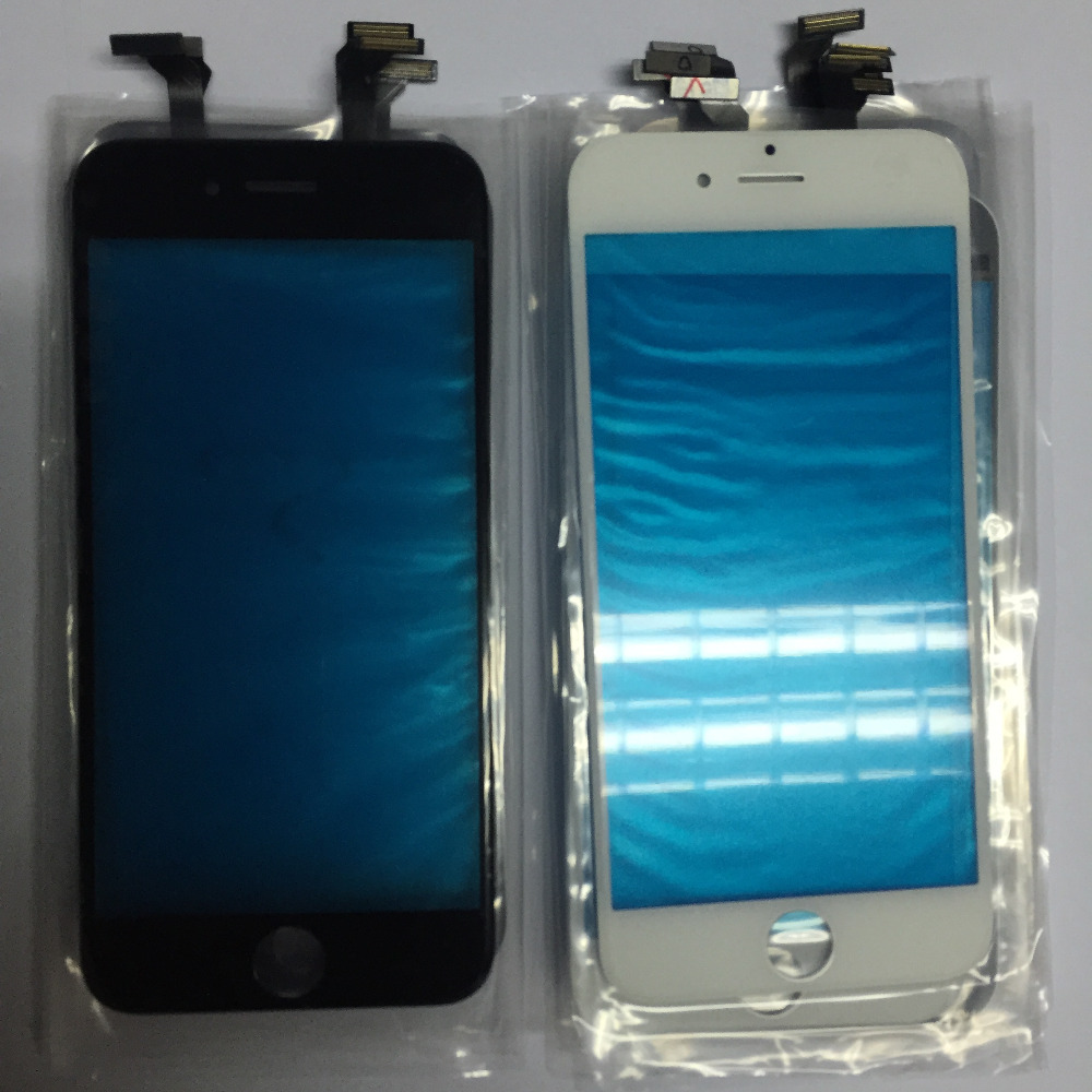 GRADE A New Sensor Outer Glass Panel Touch Screen Digitizer For Iphone 6 4.7 6 PLUS 5.5Mobile Phone Replacement Black/White
