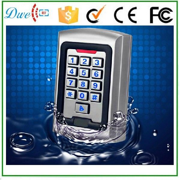 DWE CC RF carte metallo EMID caso retroilluminazione della tastiera di numeri dispositivo di controllo di accesso autonomoDWE CC RF carte metallo EMID caso retroilluminazione della tastiera di numeri dispositivo di controllo di accesso autonomo