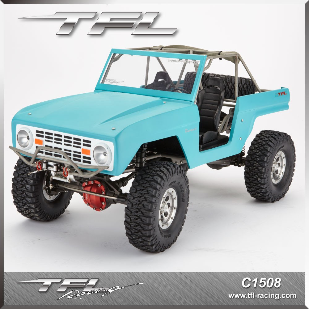 TFL Hobby Bronco C1508 1/10 2.4G 4WD 45T Climbing RC Car Without Motor 540