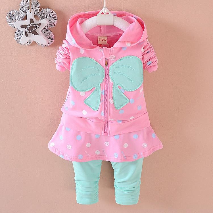 Ropa para niños Conjuntos de niña bebé Moda de algodón de calidad - Ropa de ninos