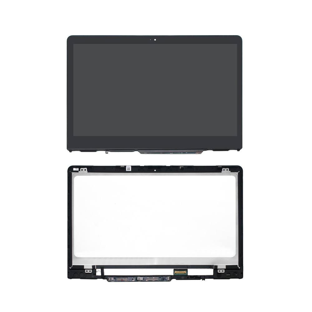 NEW 14 Laptop FHD LED LCD Touch screen Digitizer Glass Panle Assembly With Bezel For HP PAVILION X360 14M-BA011DX 925447-001 11 6 inch assembly for hp pavilion x360 11 k000na 11 k 11k lcd screen touch digitizer assembly