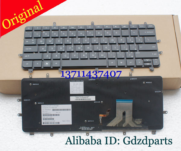 Orig/New AR Version Backlit keyboard For HP Envy 13-2000 SPECTRE XT PRO 13-B000 Spectre XT 13 keyboard Without Frame