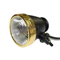 4 Mini Gold Light Ring Black H4 Headlight Headlamp Motorbiker Motorcycle For Harley Chopper Bobber Cafe Racer Shadow Custom
