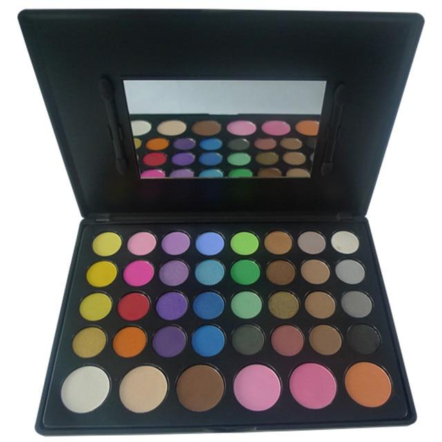 Nova Maquiagem Profissional Conjunto De 38 Completa Cor Mulheres Shimmer Da Paleta Da Sombra de Olho Make up Eyeshadow Beleza Cosmetci Conjunto Kit