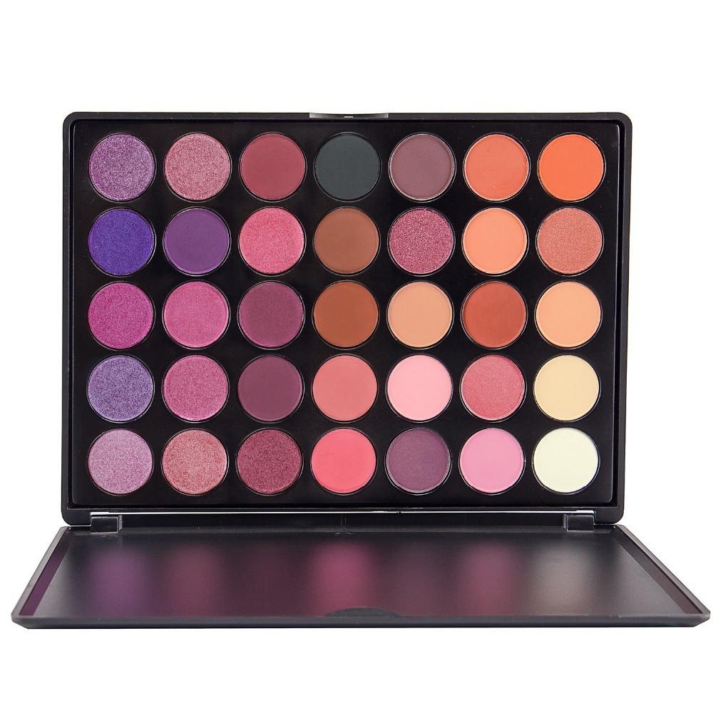 35 Color Matte Shimmer Nude Makeup Eyeshadow Palette