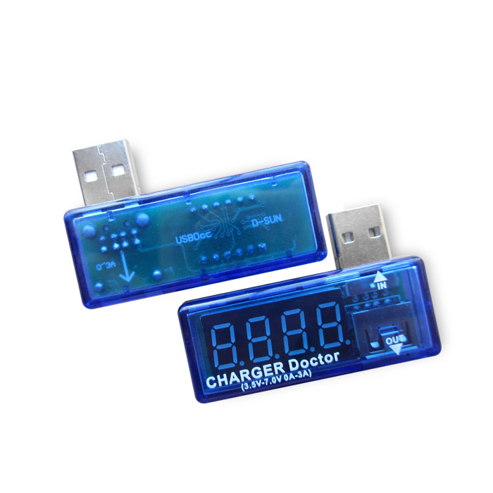 Digital USB Mobile Power charging current voltage Tester Meter Mini USB charger doctor voltmeter ammeter 3 in 1 lcd mobile battery tester power detector voltage current meter usb charger doctor