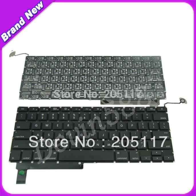 US клавиатура для Apple MacBook Pro, моноблок A1286 2009 2010 2011 год Версия