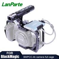 Lanparte BMPCC 4 K Камера полной клетке Rig сцепление верхняя ручка с SSD T5 зажим для samsung для Blackmagic карман Кино Камера