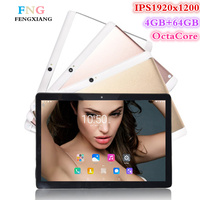 9.7 inch 3G/4G LTE tablet pc Android 7.0 Octa Core 4GB+64GB 1920*1200 IPS Dual SIM WIFI FM Bluetooth Smart Tablets 7 8 9