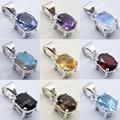 Silver IOLITE & Other 9 Stone Variation Choose Lightweight 4 Prong Pendant