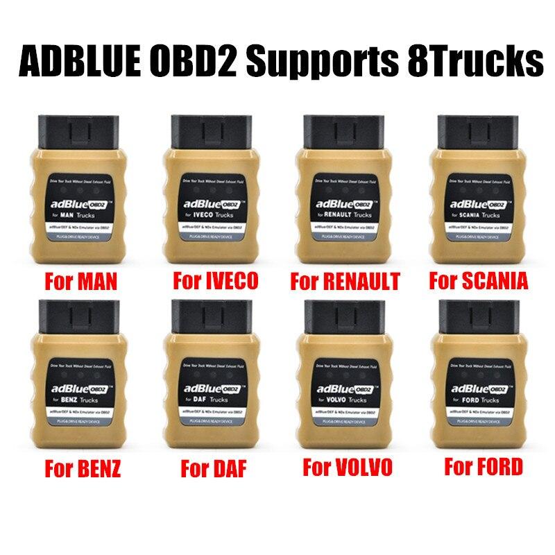 Prix pour 2017 AdBlue OBD2 Pour RENAULT/IVECO/DAF/HOMME/FORD/BENZ/VOLVO Camions Adblue Émulateur Adblueobd2 pour Autre camion