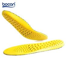BOCAN 통기성 insoles 땀 흡수 insoles 남성과 여성을위한 anti-slip 신발 패드를 실행하는 스포츠에 대 한 흡수