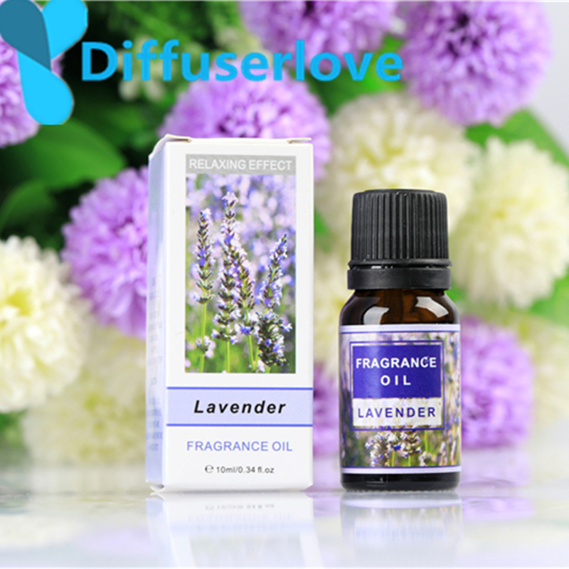 Diffuserlove Essential Oils for 10ml aroma diffuser Humidifier Aromatherapy Water-soluble Oil 12 Kinds of Lily jasmine Lavender meijuya aromatherapy essential oil lavender scent 10ml