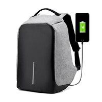 Anti Theft Backpack USB Charging Men Laptop Backpacks For Teenagers Male Mochila Travel Backpack School Back