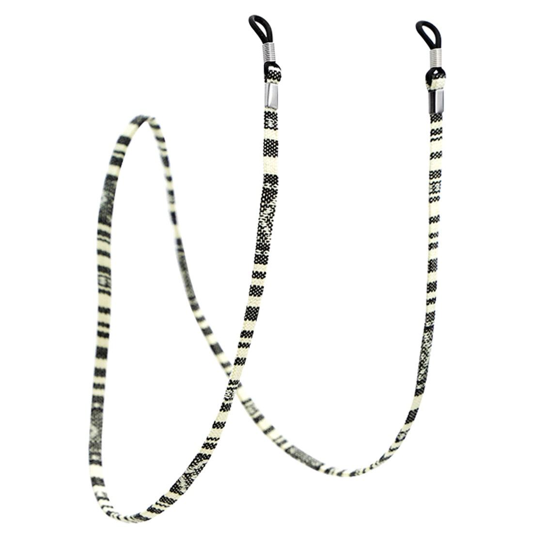 1 шт., 6 цветов, кожаный шнурок для очков, регулируемый конец, держатель для очков, красочные кожаные очки, шейный ремешок, веревка, ремешок - Цвет: 5