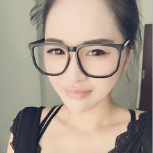 Vazrobe Oversized Glasses Women Men Black Eyeglasses Frames Square Wide Face Fashion Degree Prescription Spectacles Nerd Myopia