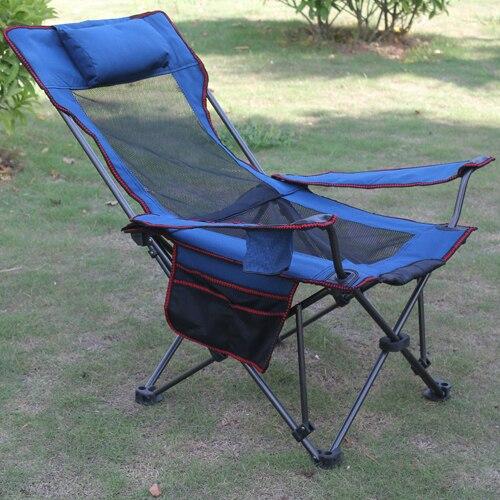 High Quality Fishing Chair Outdoor Camping Fold Beach Chair Waterproof Breathable Leisure Chair outdoor furnitu recama plegable