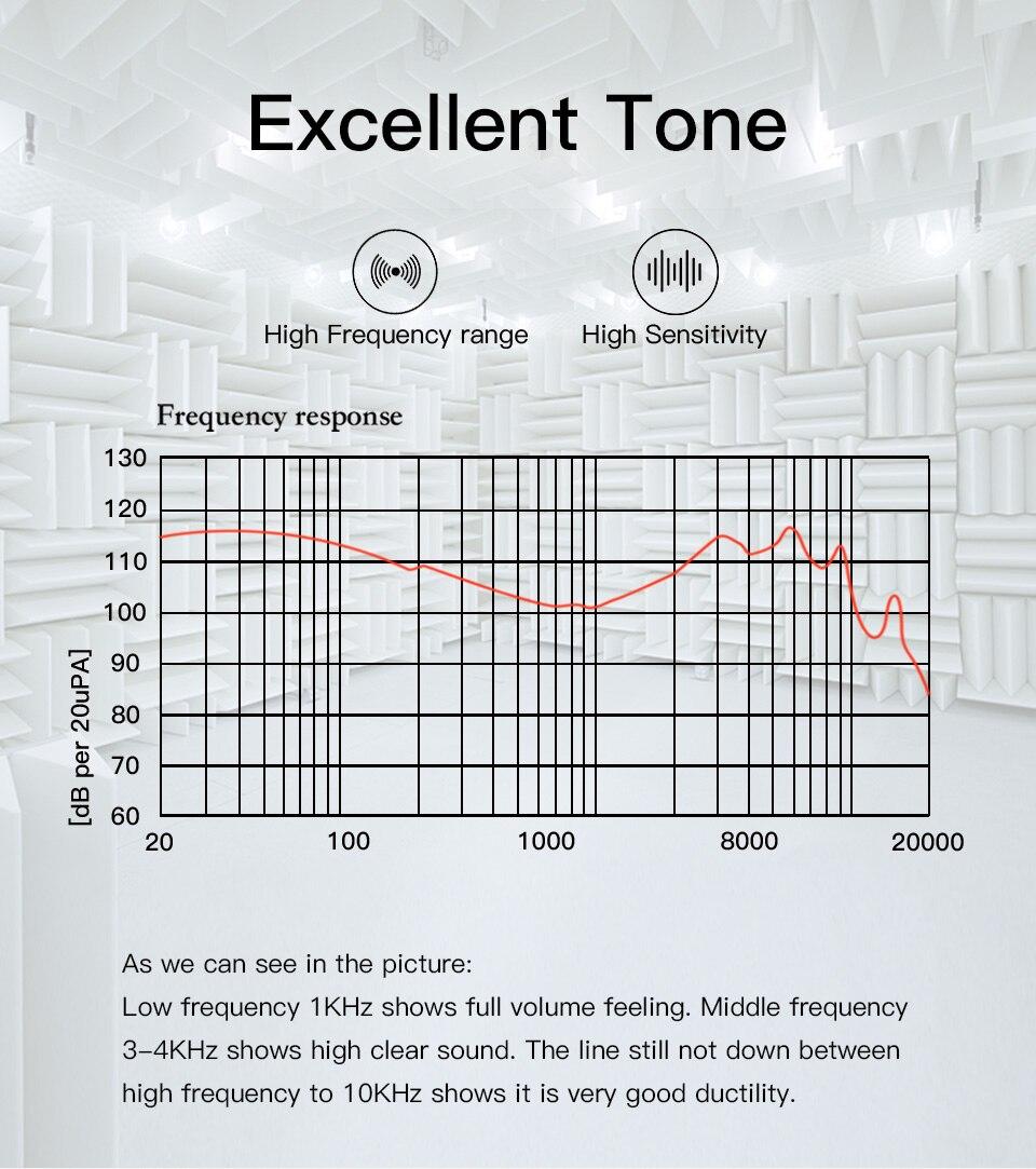 Ggmm c300 metal estéreo fone de ouvido