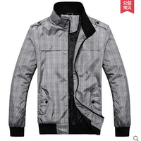Free Shipping Autumn Thin Jacket Man Jackets Stand Collar Men S Casual Jacket Tide Korean Male