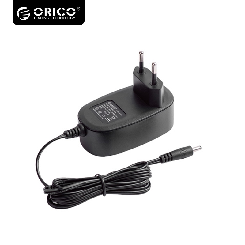 ORICO EU/US/UK Output DC 12V 2.5A Converter Power Adapter with 5.5mm Power Cord for Desktop PC USB HUB HDD Enclosure  Adapter orico 10 usb3 0 hub ports superspeed hub splitter 5gbps adapter for windows mac laptop pc cell phone with au eu us uk plug