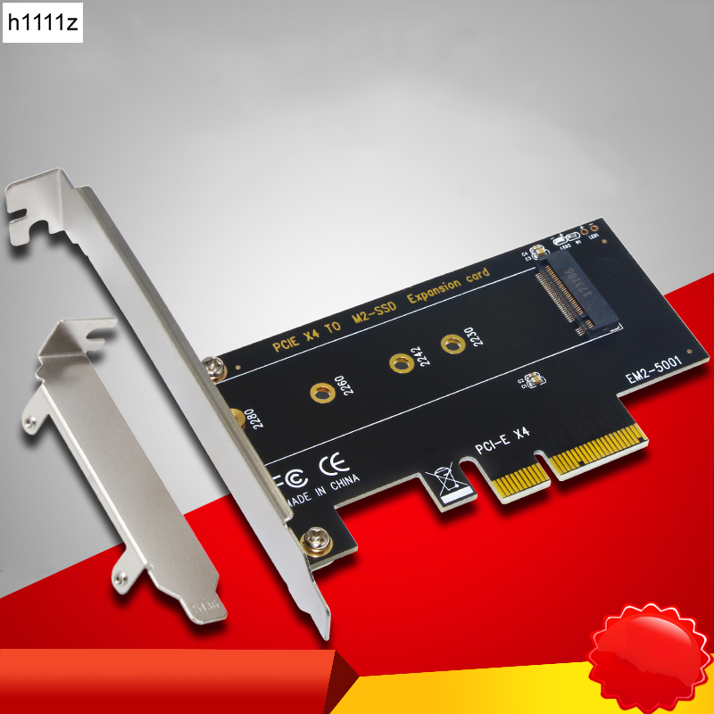 все цены на M.2 NVMe SSD NGFF to PCIE X4 adapter M Key Interface Card Support PCI Express 3.0 2230-2280 Size m.2 FULL SPEED Good Riser Card