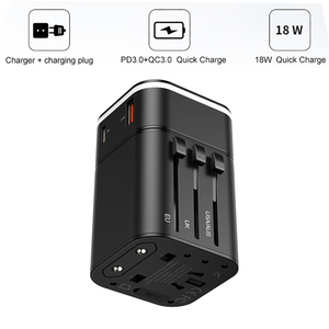 Image 5 - Baseus 18ワットreizen eu usb充電器急速充電3.0マシン用サムスンtelefoon oplader USB C pd 3.0急速充電器マシン用iphone 11プロ