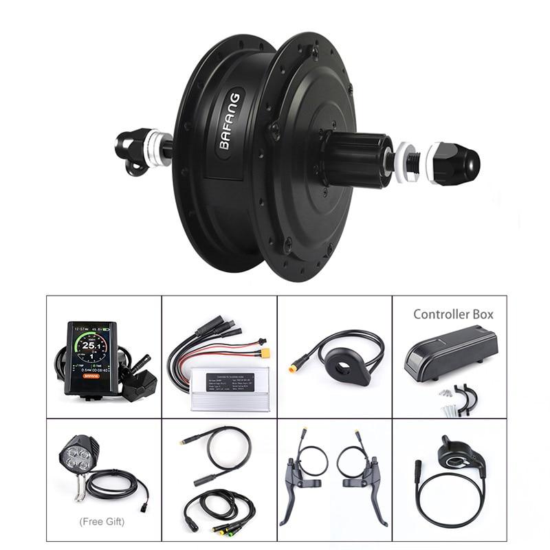 Ebike Rear Hub Wheel Motor Bafang Motor Kits 48V 350W DC Cassette Flywheel E bike Electric