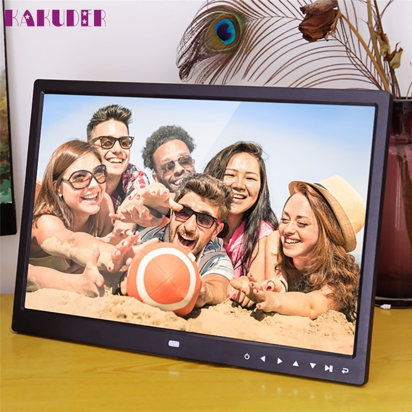 High Quality 15-Inch Photo Frame with Multimedia Playback Contemporary Design With Touch Button крем elizavecca sea salt cream 100 мл