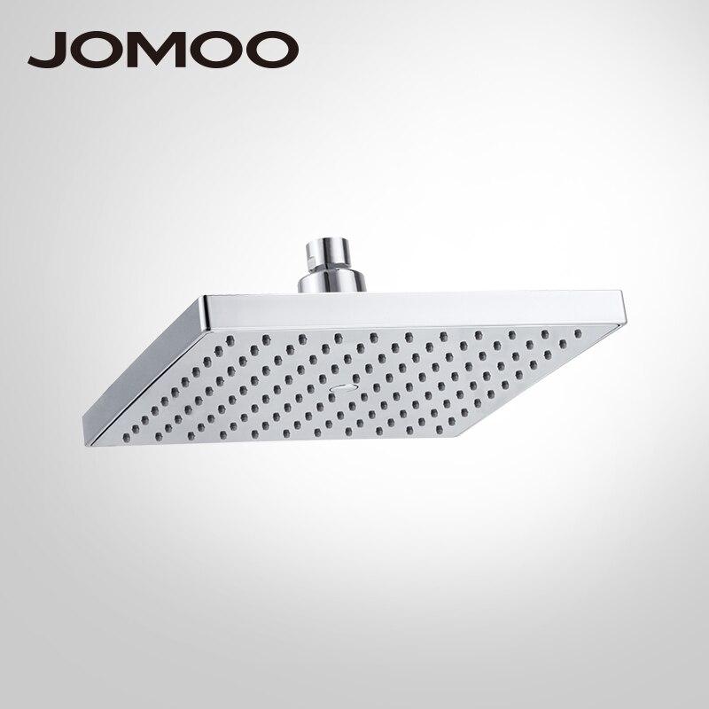 JOMOO pomme de douche pluie Chrome carré sur tête de douche pulvérisateur pomme de douche de qualité supérieure économie d'eau arrosoir haute pression