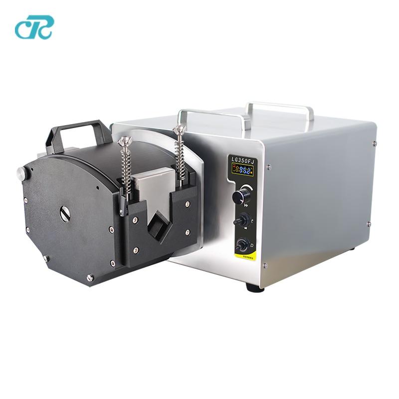 Liquid Filling Dispensing Max Flowrate 35L/min Peristaltic Pump peristaltic pump v6 dispensing 2 channel 2 yz2515x 0 007 1740 ml min per channel ce certification one year warranty