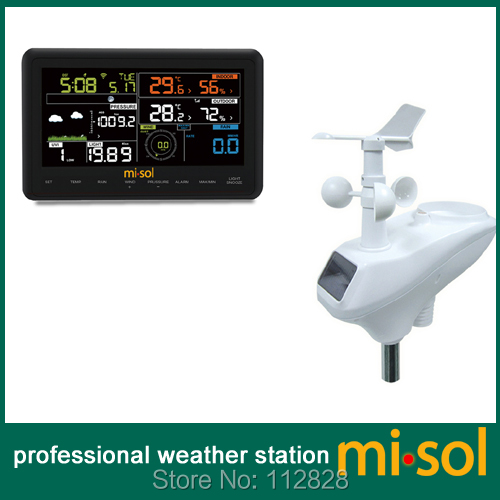цена на Wireless weather station connect to WiFi, upload data to web wunderground