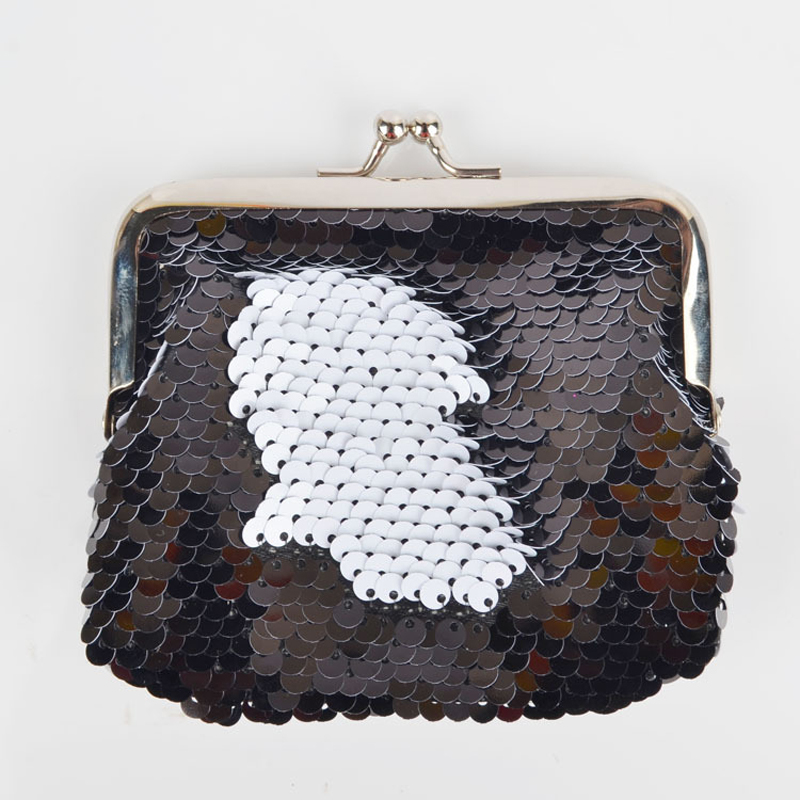30PCS LOT Creative Girl Coin Bag Sequin Coin Wallet Change Card Key Wallet Mini Wallet Wholesale Random Delivery in Coin Purses from Luggage Bags