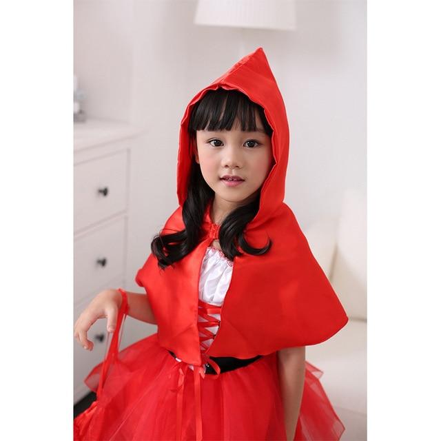 3Pcs Girls Halloween Costume Cute Kids Little Red Riding Hood Cosplay Dress Girls Lovely Christmas Dress  sc 1 st  AliExpress.com & 3Pcs Girls Halloween Costume Cute Kids Little Red Riding Hood ...