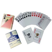 2Sets/Lot Waterproof Durable PVC Scrub Type Plastic Playing Cards 54pcs/deck Texas Hold'em Plastic Playing Game Poker Magic Card