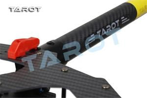 Image 3 - Kit de armazón de cuadricóptero con patín de aterrizaje electrónico para Dron teledirigido, fibra de carbono plegable, F11282, Tarot TL4X001 X4