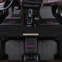 Car Wind car floor mats For Hyundai tucson 2019 elantra 2012 sonata 2011 veloster santa fe accent solaris accessories carpet rug