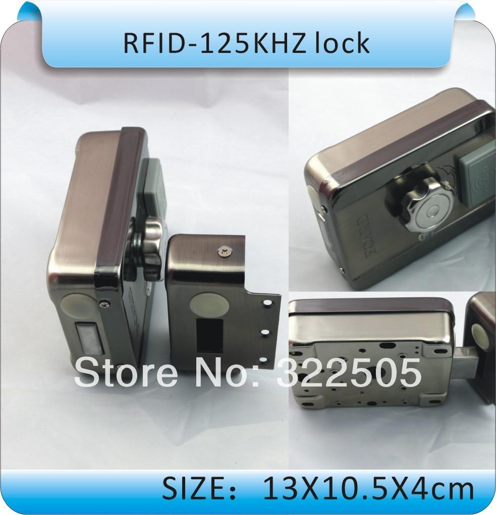Yüksek kalite, DIY DC-12V Elektronik entegre RFID kart kilidi, - Güvenlik ve Koruma - Fotoğraf 4