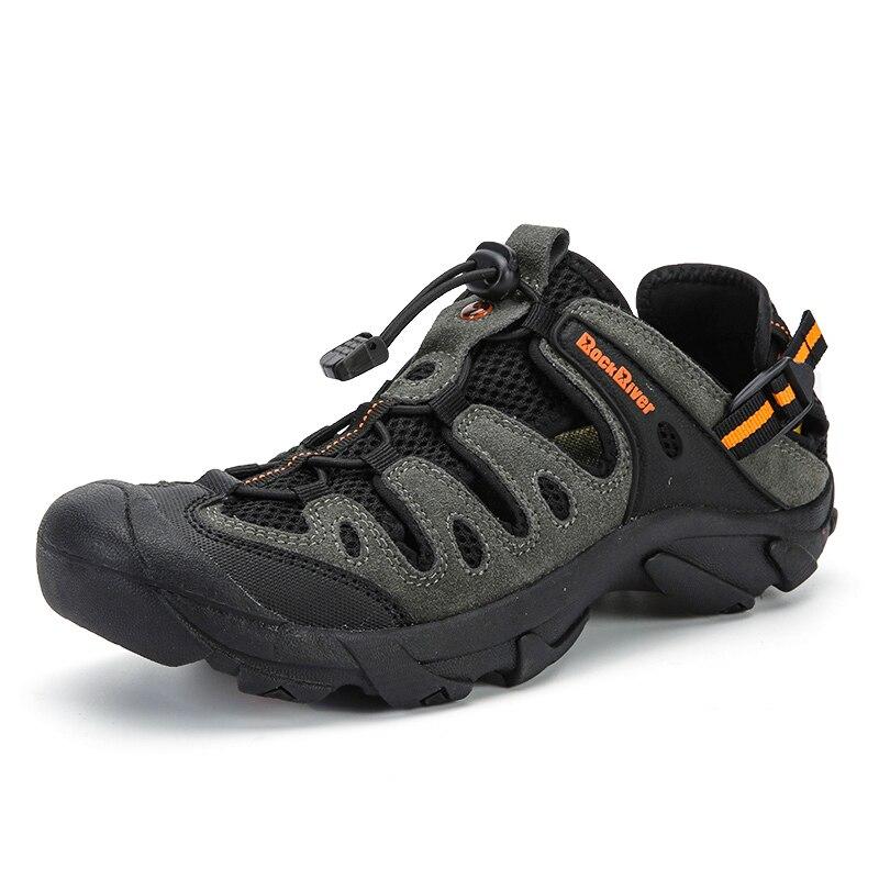 Aqua Chaussures D'été Hommes Respirant Plage Pantoufles En Amont Chaussures Adulte De Natation Sandales Plongée Chaussures Pas Cher