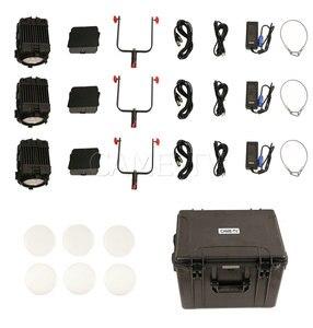 Image 5 - 3 uds CAME TV Boltzen 150w Fresnel LED enfocable Kit de luz natural luz Led para vídeo