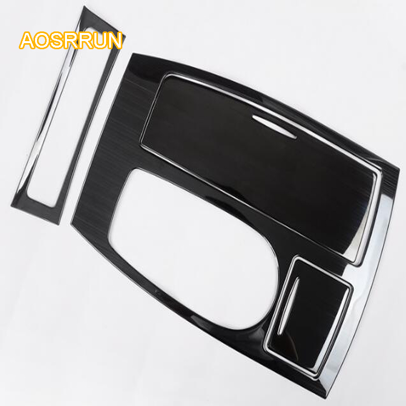 Stainless steel frame is in the water glass frame Cover Car accessories For Nissan Patril y62 2017 2018 car styling high quality stainless steel wire drawing water glass holder panel 1pcs for lexus 2016 rx200 rx450h accessories