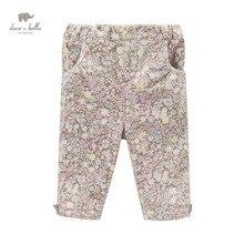 DB3694 dave bella automne bébé filles imprimé pantalon